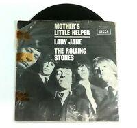 "LP Vinyl 7"" The Rolling Stones Decca AT 15051 45 RPM Rock 1966 Holland VG+ 872DA"