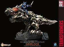 Kids Logic MN11 Mecha Nation Transformers AOE Grimlock w/ Optimus Prime LED FIG