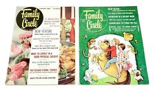 Vintage Family Circle Magazines lot of 2 January & August 1965