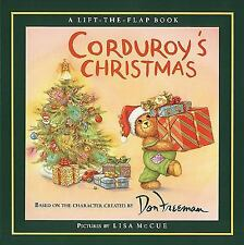 Corduroy's Christmas  Lift-the-Flap Hardcover  Holiday Magic - Art by Lisa McCue