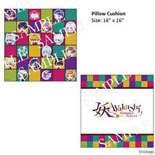 "Ayakashi: Romance Reborn 16"" Square Pillow Cushion Voltage Exclusive"