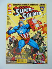 1x COMIC-DC MARVEL CROSSOVER N. 12-Super Soldier-z.1
