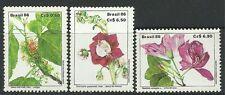 BRAZIL. 1986. Flowers Set. SG: 2249/51. Mint Never Hinged