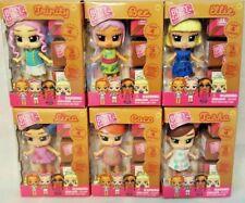 BOXY GIRLS Mini Dolls Surprises Mini Boxes Mini Shoes Bags Set of 6 Lina Bee