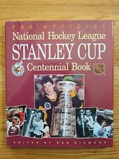 NHL STANLEY CUP CENTENNIAL Book GRETZKY LEMIEUX RICHARD BOSSY ORR HOWE HULL