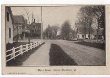 North Thetford, Vermont, Early View of Main Street
