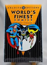 DC Comics Archives Edition Vol. 2 Worlds Finest Graphic Novel New  Cellophane