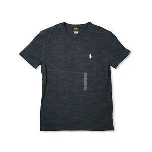 Polo Ralph Lauren Mens V Neck Classic Fit T-Shirt Short Sleeve New Authentic