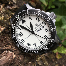 Damasko Automatic Gents Dive Watch DA47.0099 on Leather Strap