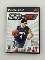 NCAA College Hoops 2K7 - Playstation 2 PS2 Game - Complete & Tested