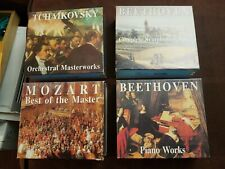 Kannon Classics:16Classical Music CD Collection Beethoven Mozart Tchaikovsky lot