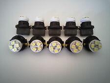 Lincoln 10 White 4 LED Dashboard Instrument Panel Indicator Light Bulb Socket