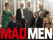 "Mad Men Cast 14 x 11"" Photo Print"
