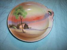 Collectible China Bowl - Meito China Hand Painted - Japan
