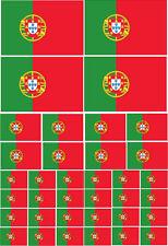 Portugal / portugais flag vinyle autocollant Multi Pack-Europe à thème