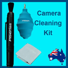 Professional DSLR Camera cleaning kit lens pen blower magic cloth Canon Nikon