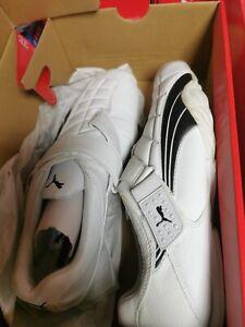 Puma Kekomi AT Trainers Shoes White RRP £90 Size 7