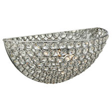 Searchlight Clear Crystal Indoor Home Deco Wall Fitting Bracket Light Uplighter