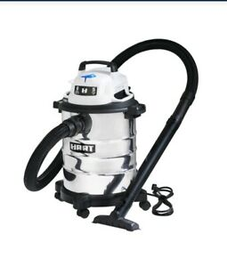 Hart 6 Gallon Stainless Steel Tank Wet/Dry Vacuum SHOP VAC 5HP NEW NIB FAST SHIP