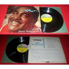 Jimmy Witherspoon –Spoon LP ORG FRENCH PRESS REPRISE 1961 JAZZ BE BOP Languette
