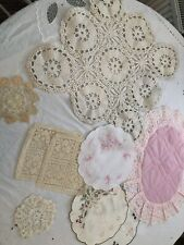 Beautiful Vintage Doilies. X 9