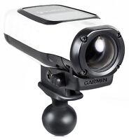 RAM Mount Plastic Garmin VIRB Camera Adapter on 1 inch Ball