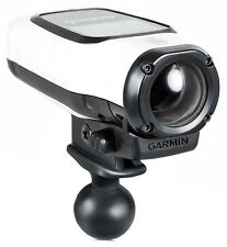 RAM Mount Plastic Garmin VIRB Camera Adapter on 1 inch Ball
