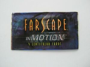 FARSCAPE IN MOTION RITTENHOUSE ARCHIVES EMPTY TRADING CARD WRAPPER