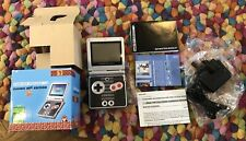Game Boy Advance SP Classic NES Limited Edition Black & Silver Handheld System