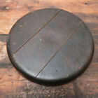 Antique TONK & Co. Piano Stool Round Wooden Stool Seat (Seat Only)