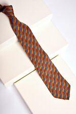 Missoni U5032 Red//Black Shepherds Check 100/% Silk Tie for mens