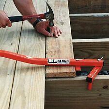 Deck Board Straightening Tool BoWrench  Construction Helper Wood Gap Closer