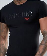 Emporio Armani Mens Muscle fit T-shirt Big Logo Size M L XL