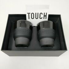Nespresso Touch Collection Lungo Cups Geckeler Michels Silicone Grip (Set of 2)