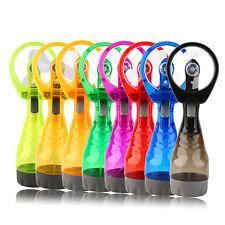 Summer Portable Handhold Powerful Fan Mini Outdoor Mist Water Cooling Spray Fan