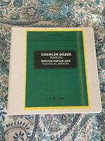 John Deere JD 350B loader crawler dozer service repair manual binder 1032