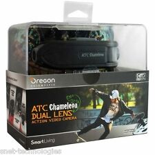 ATC Chameleon Dual Lens Action Video Camera by Oregon Scientific + FREE 8GB CARD