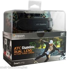 Atc Chameleon Doble Lente acción Video Cámara De Oregon Scientific Gratis Tarjeta De 32gb