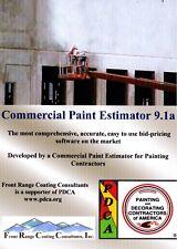 Commercial Paint Estimator 9.1a