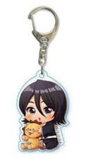 Bleach Rukia and Kon Acrylic Key Chain Anime Manga NEW