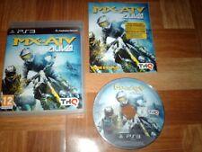 MX VS ATV...ALIVE...jeu complet...sur PS3