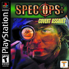 Spec Ops: Covert Assault Sony PlayStation 1 NIB Take 2 Interactive NIP 2001