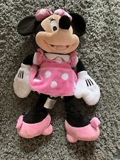 """New listing Disney Store Authentic Plush Stuffed Minnie Mouse Stuffed Animal Doll Toy 20"""""""