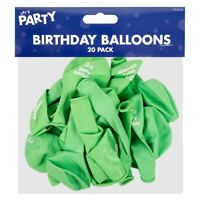 Birthday Party Balloons Monster Bash Balloons 20 Pack