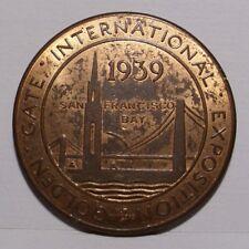 1939 Golden Gate International Exposition Token , AU