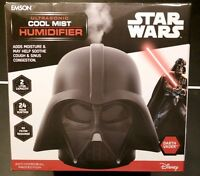 Star Wars Darth Vader Ultrasonic Cool Mist Humidifier NEW