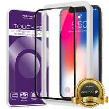 [FULL COVERAGE] Screen Protector Tempered Glass for Apple iPhone XS X Applicator