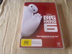 Big Hero 6 (DVD) Region 4 Ryan Potter, Scott Adsit