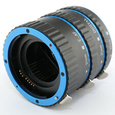 Blue TTL Auto Focus AF Macro Extension Tube Ring for Canon EOS EF mount 70D 750D
