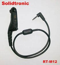 Solidtronic RT-M12 Radio Connection Cable for Motorola MotoTRBO XiRP8260 XPR6500